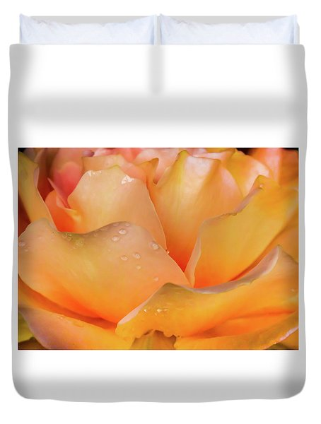 Duvet Cover featuring the photograph Heaven Scent by Karen Wiles