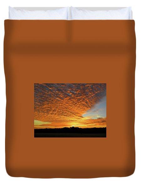 Heaven Sent Golden Sunrise Duvet Cover