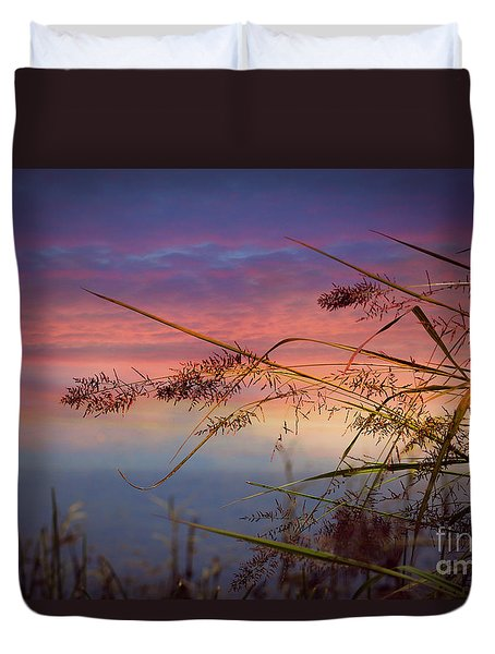 Duvet Cover featuring the photograph Heavenly Bliss by Brenda Bostic