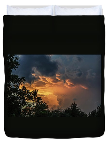 Heavenly Clouds Duvet Cover