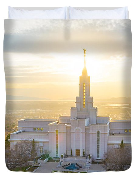Heavenly Glow Duvet Cover