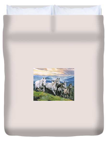 Heavenly Home Duvet Cover