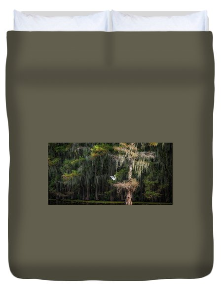 Heavenly Nest  Duvet Cover