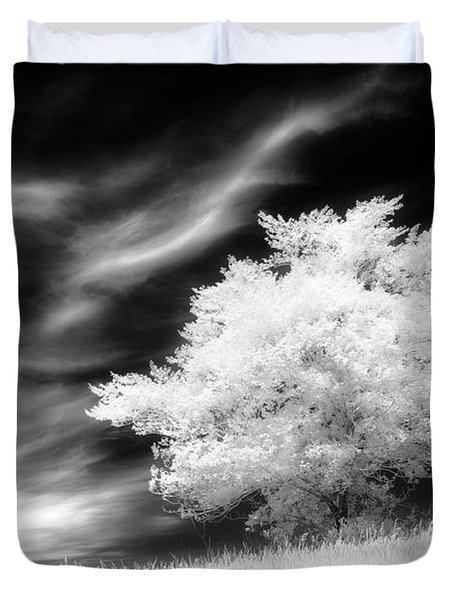 Heavenly Places Duvet Cover by Dan Jurak