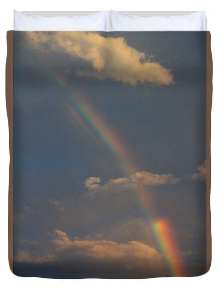 Heavenly Rainbow Duvet Cover