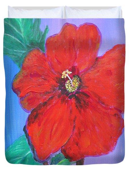 Heavenly Scent Duvet Cover by Maria Watt