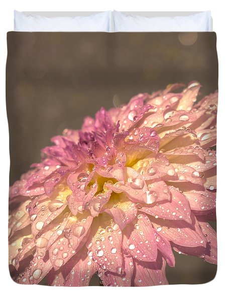 Duvet Cover featuring the photograph Heavenly Scent by Rose-Maries Pictures