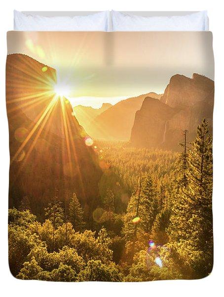 Heavenly Valley Duvet Cover