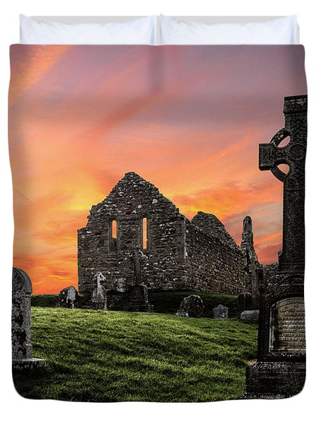 Heaven's Call Duvet Cover