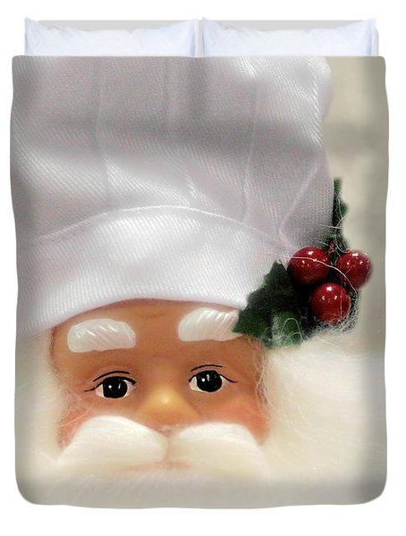 Heaven's Chef Duvet Cover by Christine Till