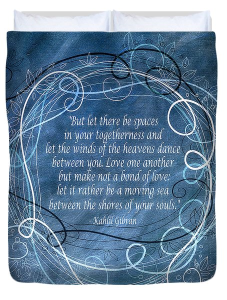 Heavens Dance Duvet Cover