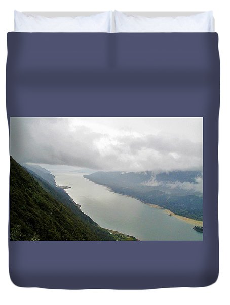 Heavens Door Duvet Cover by Martin Cline