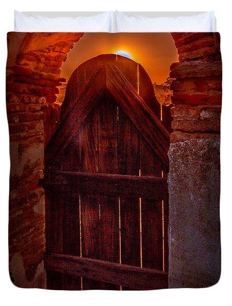 Heaven's Gate Duvet Cover