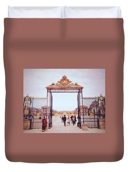 Heaven's Gates Duvet Cover