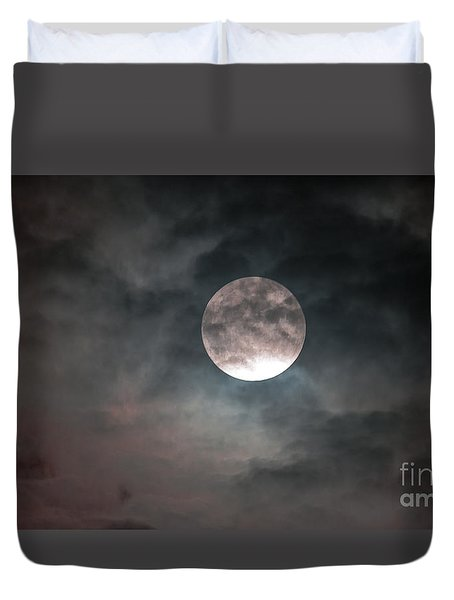 Heaven's Work Duvet Cover by Sandy Molinaro