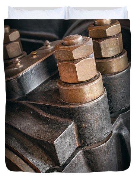 Heavy Industry Detail Duvet Cover