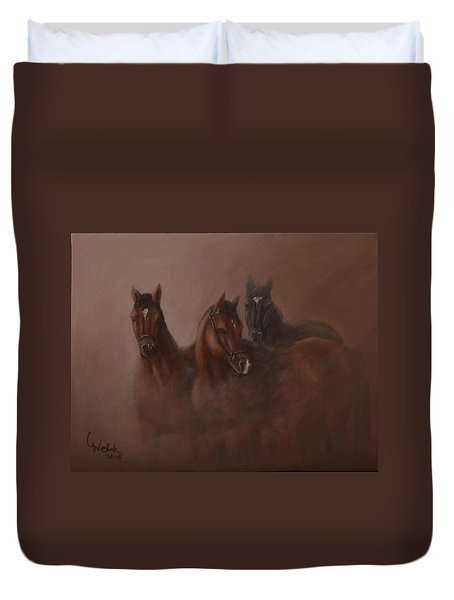Heavy Mist Duvet Cover