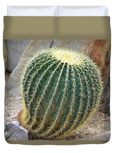Hedgehog Cactus Duvet Cover
