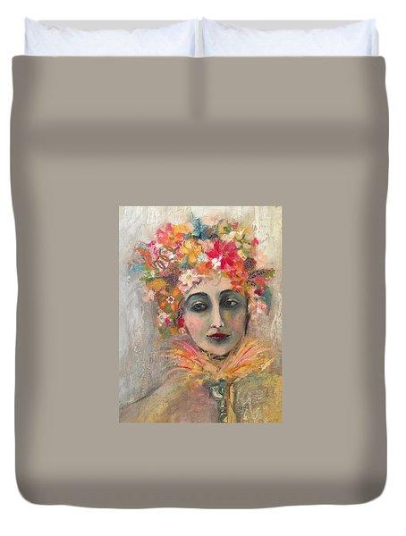 Hedy Lamore Duvet Cover