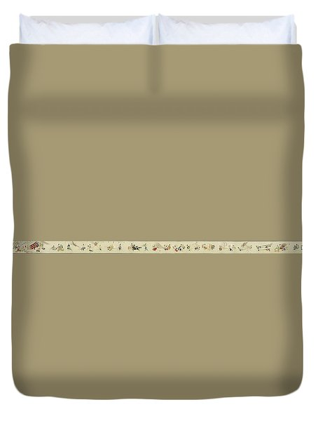 Hegassen Scroll 36 Parts Duvet Cover