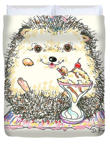 Hedgehog Heaven Duvet Cover