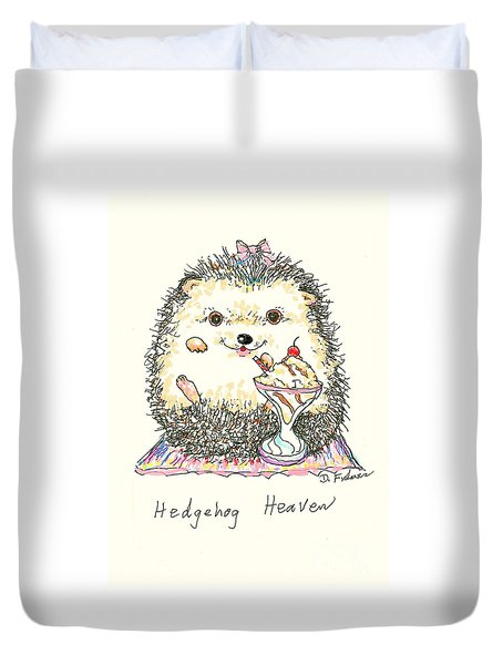 Hedgehog Heaven Duvet Cover