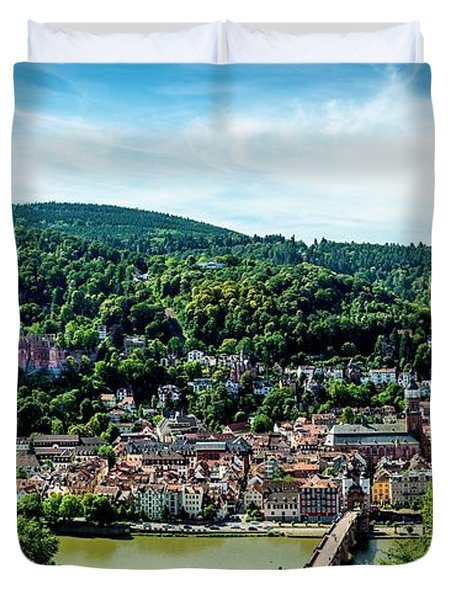 Heidelberg Germany Duvet Cover