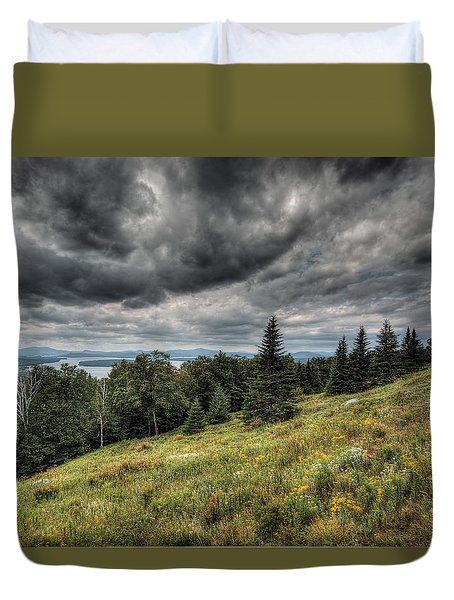 Height Of The Land Duvet Cover