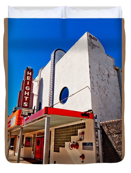 Heights Movie Theater Duvet Cover