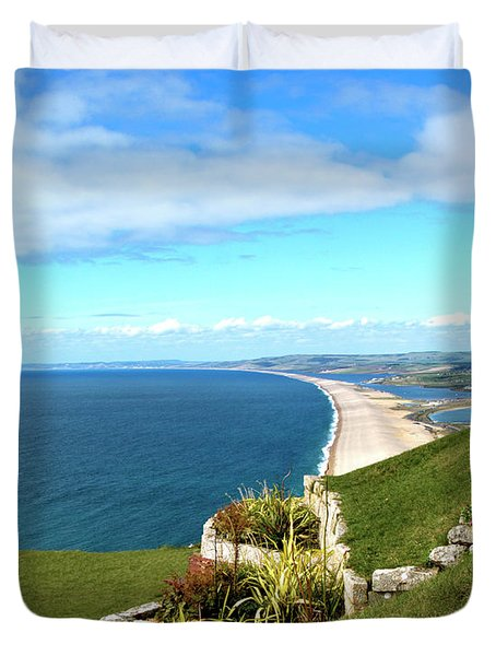 Heights Of Fortune Duvet Cover by Baggieoldboy