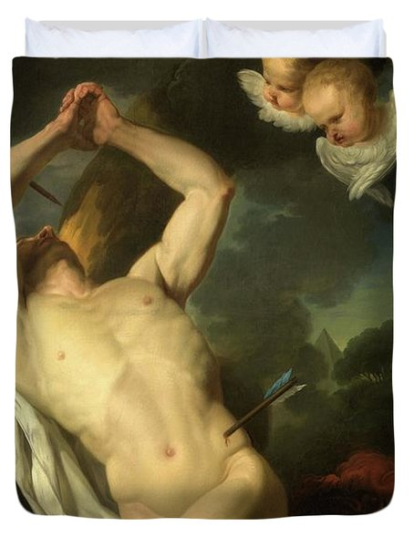 Heilige Sebastiaan Duvet Cover