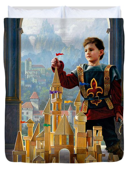 Heir To The Kingdom Duvet Cover