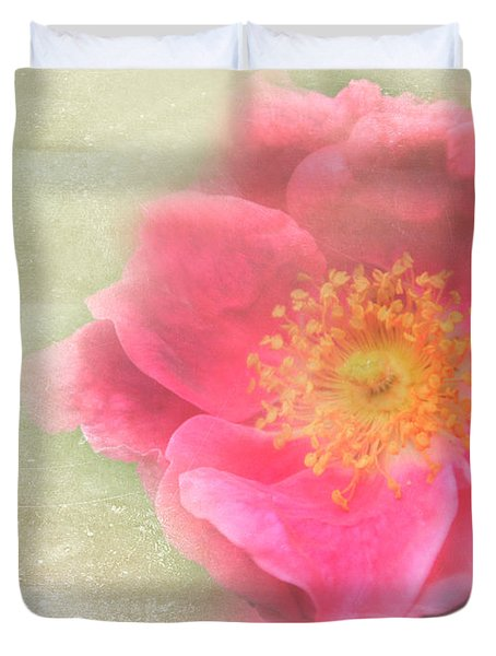 Heirloom Rose Duvet Cover