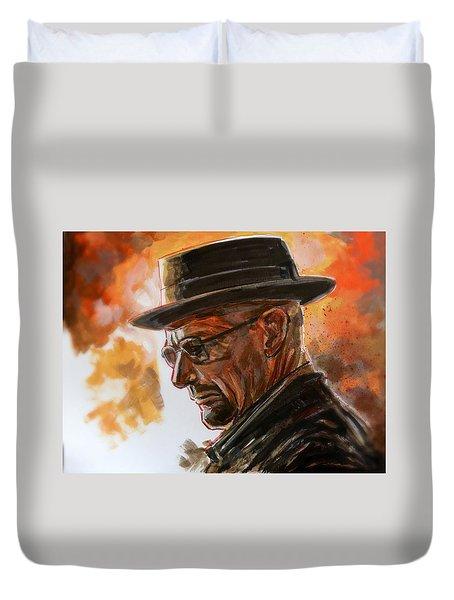 Heisenberg Duvet Cover
