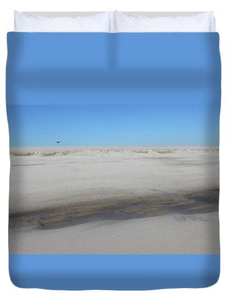 Helecopter Shirley New York Duvet Cover