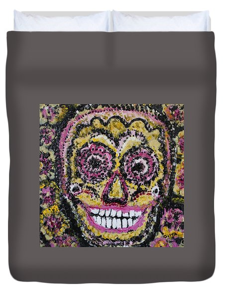 Happy To See You Duvet Cover