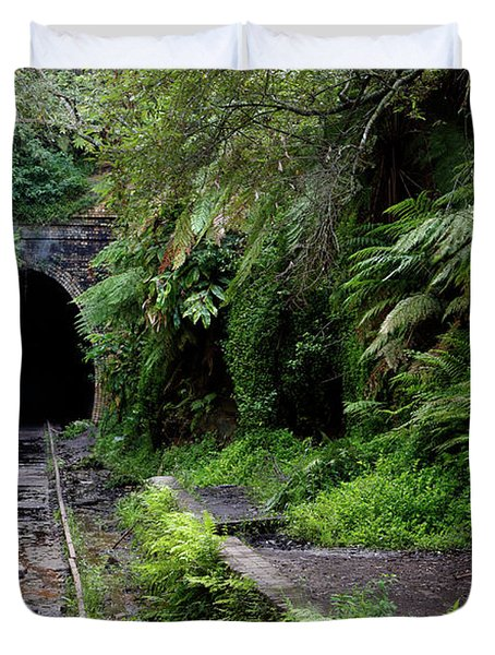 Helensburgh Old Station Duvet Cover
