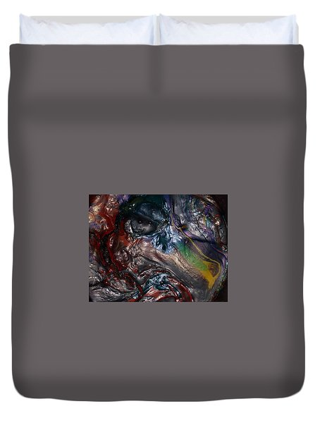 Helicopter Blade Smile Duvet Cover
