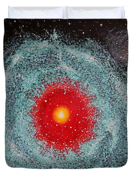 Helix Nebula Duvet Cover by Georgeta  Blanaru