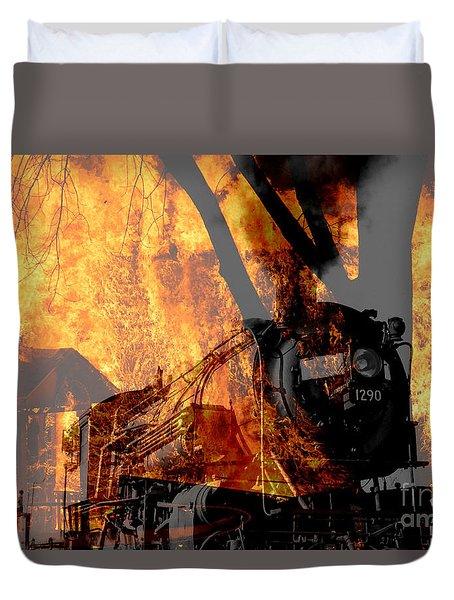 Hell Train Duvet Cover