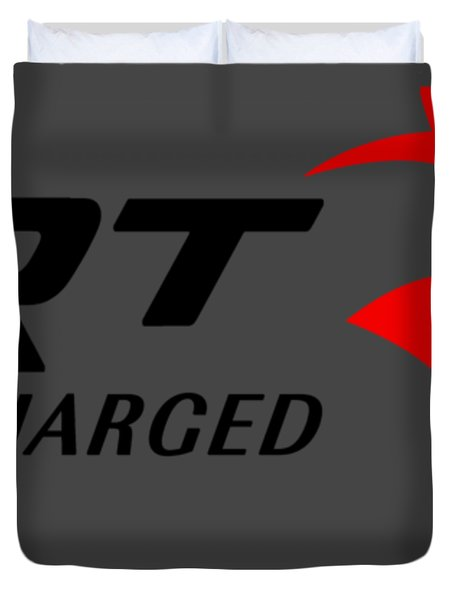Hellcat Srt Supercharged Duvet Cover