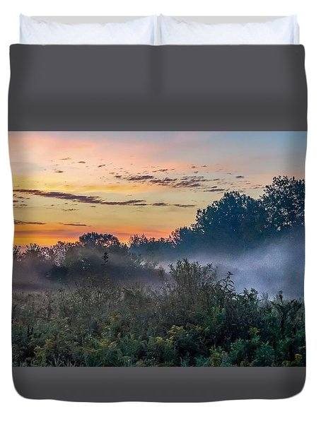 Duvet Cover featuring the photograph Hello Gorgeous by Kendall McKernon