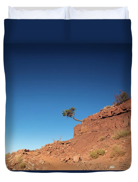Hello Hikers Duvet Cover
