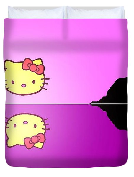 Hello Kitty Sunrise Duvet Cover