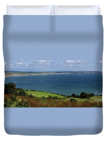 Hells Mouth Duvet Cover by Steev Stamford