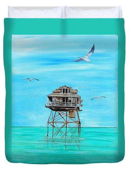Hemingway Stilt House Duvet Cover