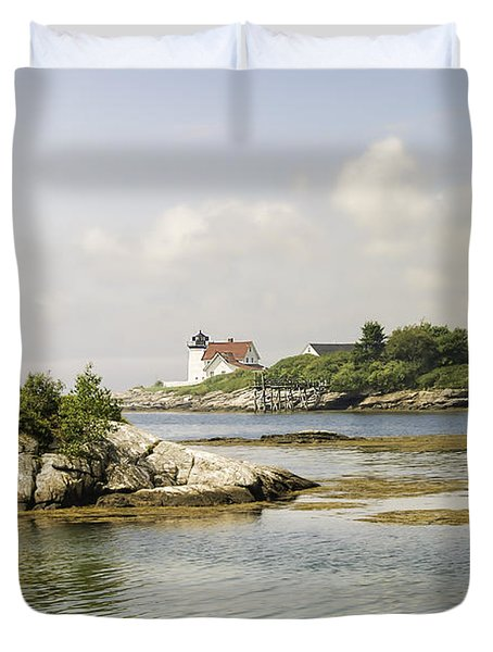 Hendricks Head Lighthouse Duvet Cover