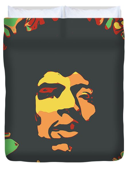 Hendrix Duvet Cover