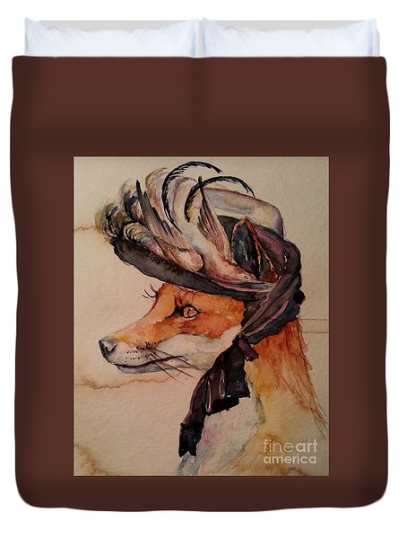 Henrietta Fox Duvet Cover