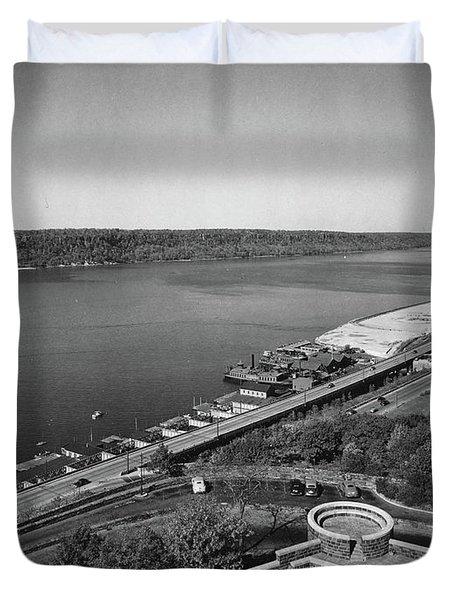 Henry Hudson Parkway, 1936 Duvet Cover